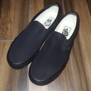 Vans Shoes - BRAND NEW Men's Black Vans Slip On Shoes